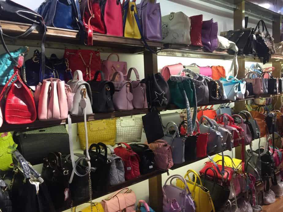 Rayonnage pour stockage de sac