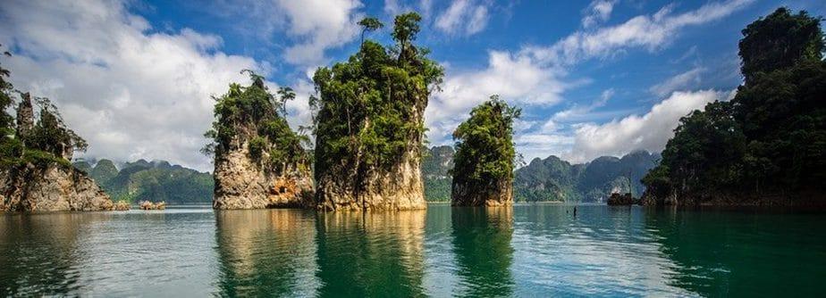 parc naturel de Khao sok en Thailand