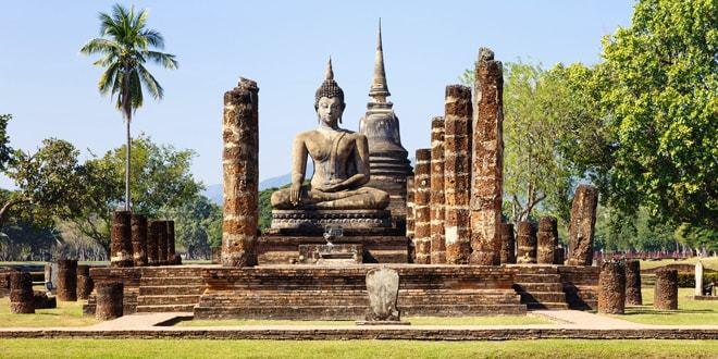 visiter le parc historique de sukhothai