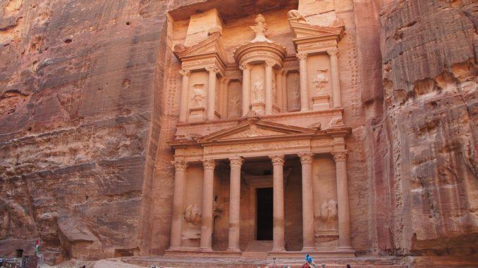 les ruines de Petra