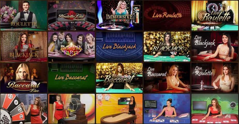 CasinoExtra offre également des jeux live