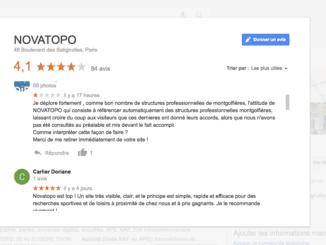 novatopo un moteur de recherche pour les activités de sport et loisir