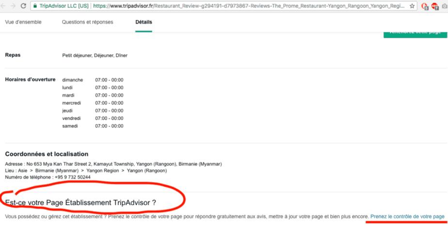 avis client sur tripadvisor.com